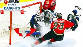 NHL Worst Plays Of All-Time: Did The Flames Score In '04? | Steve's Dang-Its