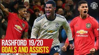 Stories of 19/20: Marcus Rashford | All The Goals and Assists | Manchester United