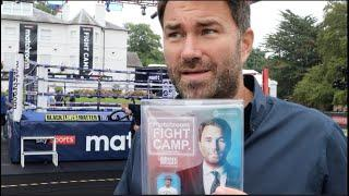 'IM  F****** UP FOR IT' - EDDIE HEARN / AJ-WHYTE WANT TO 'SLAP EACH OTHER', FURY, WILDER, FIGHT CAMP