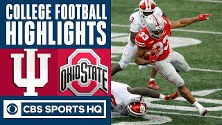 #9 Indiana vs #3 Ohio State Highlights: Buckeyes beats back comeback bid by Hoosiers | CBS Sports HQ