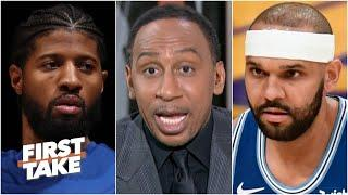 Stephen A. reacts to Jared Dudley saying Paul George's 'disrespectful' comments motivated the Lakers
