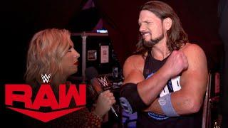 AJ Styles' confidence is through the roof ahead of WWE TLC: WWE Network Exclusive, Dec. 14, 2020