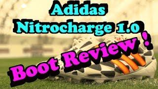 Adidas NitroCharge 1.0 Boot Review   F2 Freestylers