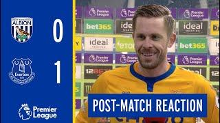 WEST BROM 0-1 EVERTON | GYLFI SIGURDSSON'S REACTION
