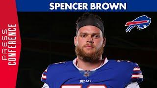 """Spencer Brown: """"The Bills Have a Great, Great Facility""""   Buffalo Bills"""