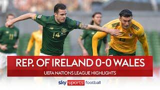 McClean sees red in Dublin deadlock | Rep. of Ireland 0-0 Wales | Nations League Highlights