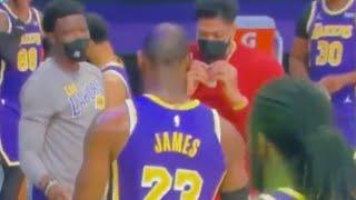LeBron, Lakers Bust Out Weed Celebration After SMOKING LaMelo Ball & Hornets