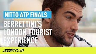 Berrettini Shares London Tourist Experience With Emirates | Nitto ATP Finals | ATP
