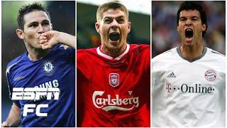 Who would you rather have: Frank Lampard, Steven Gerrard or Michael Ballack? | Extra Time