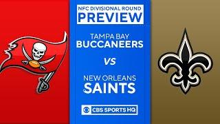 Buccaneers vs Saints: 2021 NFC Divisional Round Preview | NfL | CBS Sports HQ