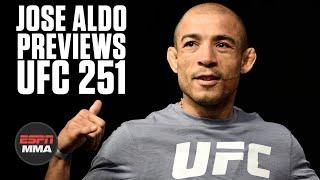 Jose Aldo on traveling to Abu Dhabi to fight Petr Yan, cutting to 135 pounds | UFC 251 | ESPN MMA