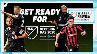 5 Teams battle for Final 2 Playoff Spots! Who will survive? | MLS Weekend Preview pres. by AT&T 5G