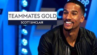 Who is the FASTEST player Scott Sinclair has ever played with?  | Teammates Gold Scott Sinclair
