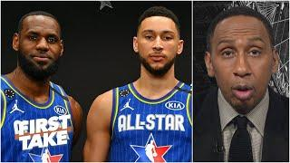 Ben Simmons is 'a jumpshot away from being LeBron James part 2' - Stephen A. | First Take