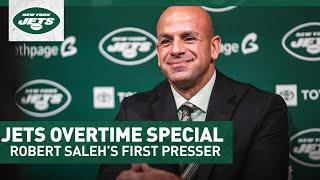 Jets Overtime Special: Robert Saleh Introduced As Jets Head Coach | New York Jets | NFL