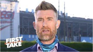 Marty Smith: NASCAR is determined to find who left a noose in Bubba Wallace's garage | First Take