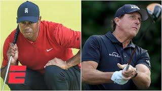 Should Tiger Woods and Peyton Manning be favored over Phil Mickelson and Tom Brady? | Daily Wager