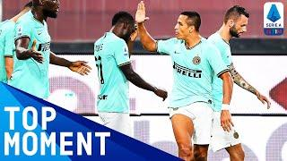 Alexis Sanchez Doubles Inter's Lead! | Genoa 0-3 Inter | Top Moment | Serie A TIM