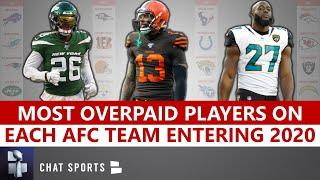 NFL News: The Most Overpaid Players On Each AFC Team Entering The 2020 Season