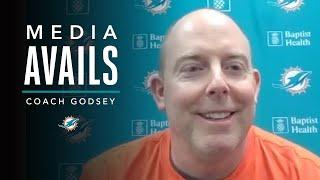 George Godsey: It's Been a Fun Offseason, We've Been Busy  | Miami Dolphins Media Avails
