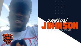 Jaylon Johnson hungry and motivated to join Bears | Skype Interview | Chicago Bears