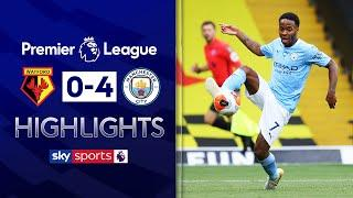 City hammer Watford as relegation battle goes to final day! | Watford 0-4 Man City | EPL Highlights