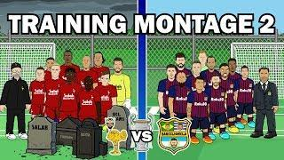 Liverpool vs Barcelona: 2nd TRAINING MONTAGE (Champions League 2019 Semi-Final Preview)