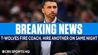 Instant Reaction: Timberwolves fire Ryan Saunders, hire a replacement on same night | CBS Sports HQ