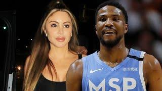 Larsa Pippen Spotted With 24 Year Old Malik Beasley Days After He Signed $60M Deal With Timberwolves