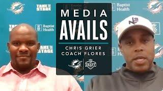 Chris Grier and Coach Flores Discuss Rounds 4-7 of the Draft   Press Conference