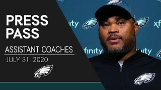 Eagles Assistant Coaches Discuss 2020 Training Camp   Eagles Press Pass