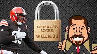 The Browns are a lock for Week 11 | Lorenzo's Locks