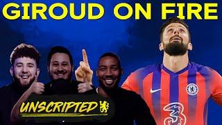 Olivier Giroud On Fire & Everton Preview | Chelsea Unscripted Episode 10