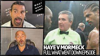 David Haye v Jean Marc-Mormack full What Went Down episode | The night Haye became a world champion