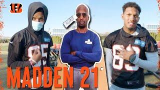 Bengals React to Their Madden 21 Player Ratings ft. Chad Johnson   Cincinnati Bengals