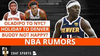 NBA Rumors On A Jrue Holiday Trade, Victor Oladipo To The Knicks + Jerami Grant & Buddy Hield News
