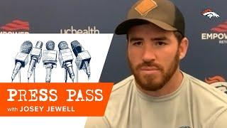 'They're a physical team': Josey Jewell on what challenges the Raiders' offense presents