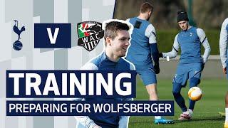 SIX ACADEMY PLAYERS JOIN FIRST-TEAM TRAINING | SPURS PREPARE FOR WOLFSBERGER AC | UEFA Europa League