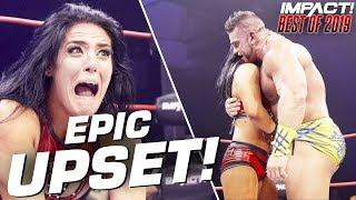 Tessa Blanchard UPSETS Brian Cage! | IMPACT Wrestling Best of 2019