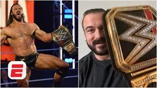 WWE champion Drew McIntyre wants an open-top bus tour and a WWE PPV in the UK | WWE