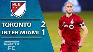 Toronto FC dampen Inter Miami's playoff chances in 2-1 win | ESPN FC MLS Highlights
