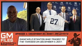Remember when Jim Leyritz broke the news that Giancarlo Stanton was getting traded to the Yankees?