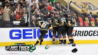Jonathan Marchessault powers Golden Knights with hat trick