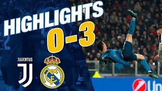 Cristiano Ronaldo's amazing bicycle kick! | Juventus 0-3 Real Madrid | Champions League (2017/18)