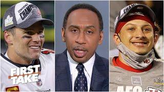 Stephen A. says Tom Brady is more valuable to Bucs than Patrick Mahomes to Chiefs   First Take