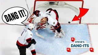 NHL Worst Plays Of All-Time: Own Goal To Win The Stanley Cup? | Steve's Dang-Its