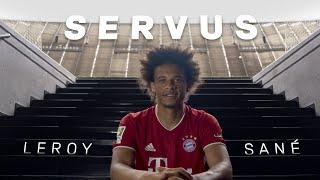 All about our new winger | Servus, Leroy Sané | FC Bayern