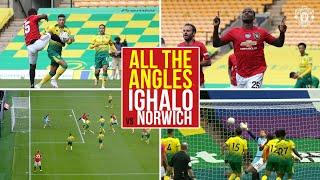 All the Angles   Ighalo's improvised opener at Norwich   Norwich City v Manchester United