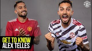Get to Know Alex Telles with Statman Dave | Manchester United | Stats