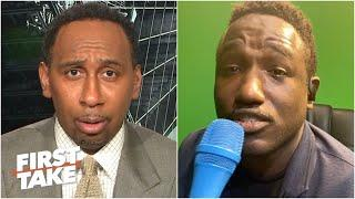 Hannibal Buress brags about beating Stephen A. in the NBA Celebrity Game | First Take